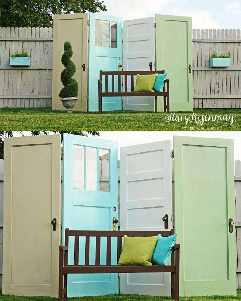 Garden Room Doors: Repurposed & Reclaimed