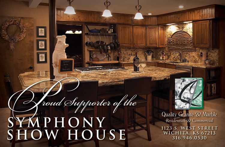 Symphony Show House Ad Designer Chris M Moore Client Quality Granite