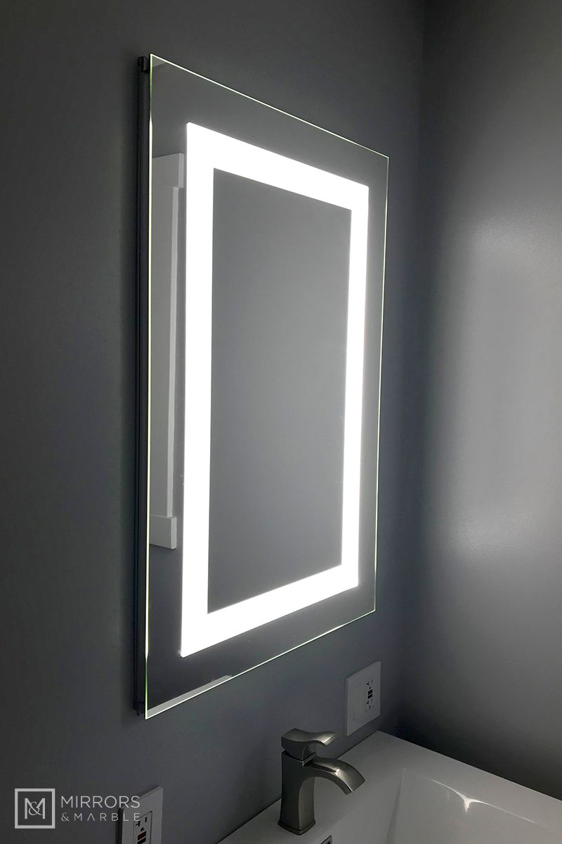 Lighted Led Bathroom Mirror Medicine Cabinet 24 Medicine