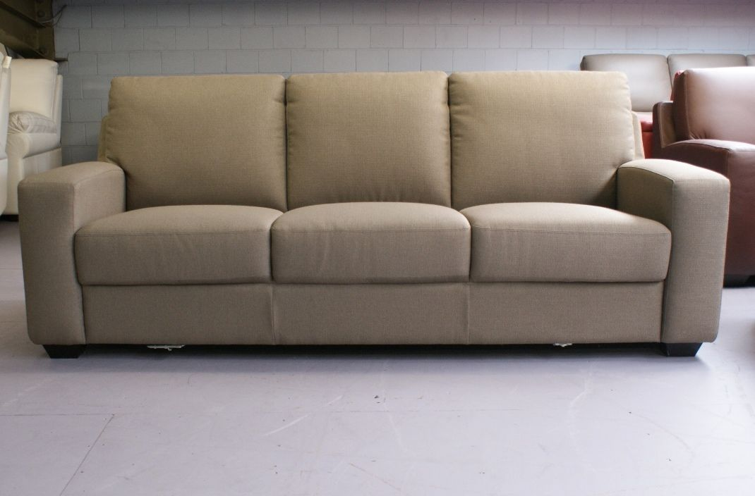 Fabric 3 Seater Sofa Oz Design In Bayswater Vic Ebay