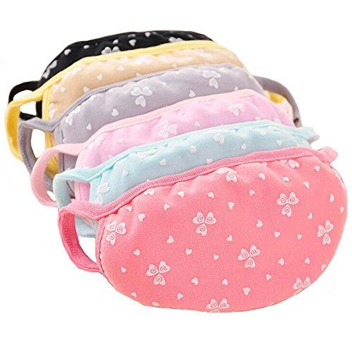 Heart Pattern Cotton Cute Lovely Antidust Protective Face Mask Ear