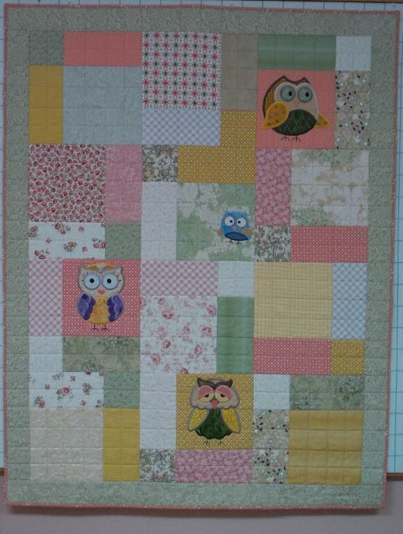 Quilting Ideas | Project on Craftsy: Owl Baby Quilt | Quilting ... : baby quilt owl pattern - Adamdwight.com