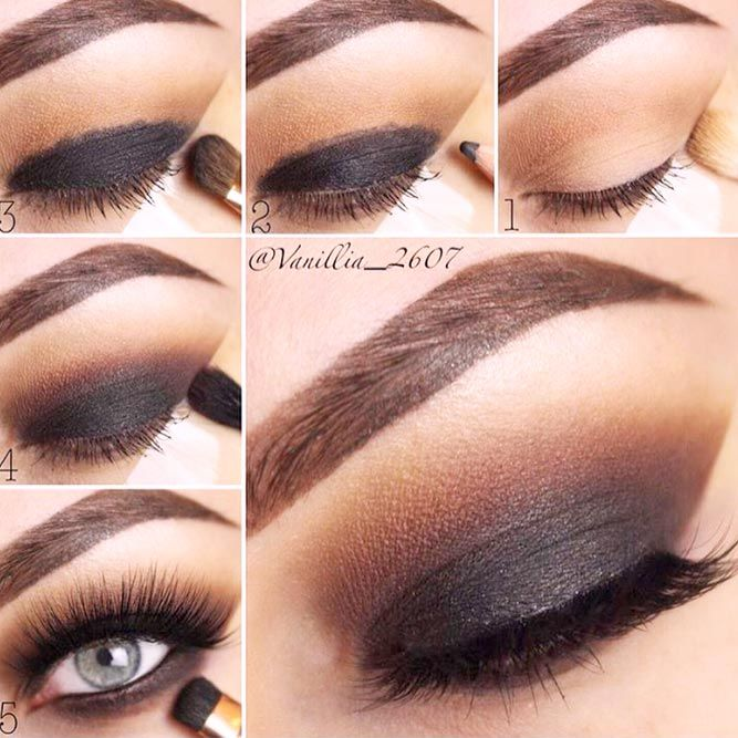 18 Easy Smokey Eye Tutorial Ideas To Look Smoking Hot Hair Ideas