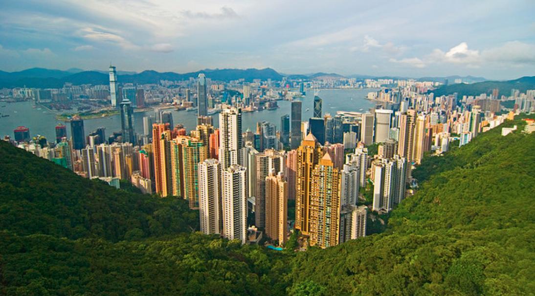 Hong kong, Victoria Peak più di 400mt sopra a Hong Kong.