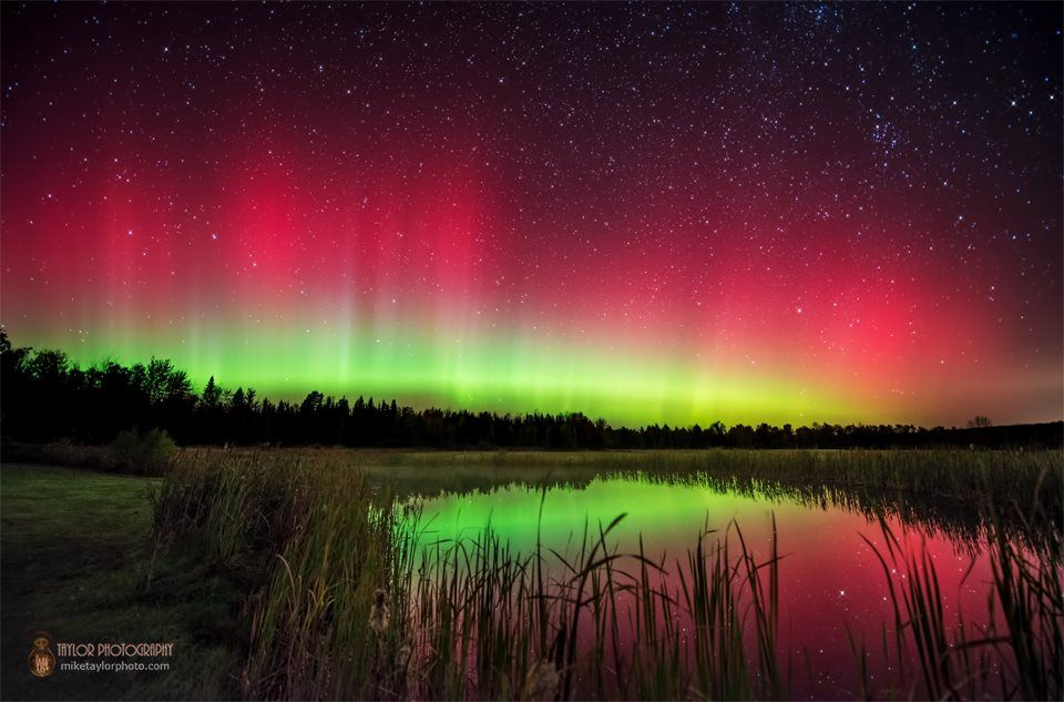 Aurora Borealis in Maine