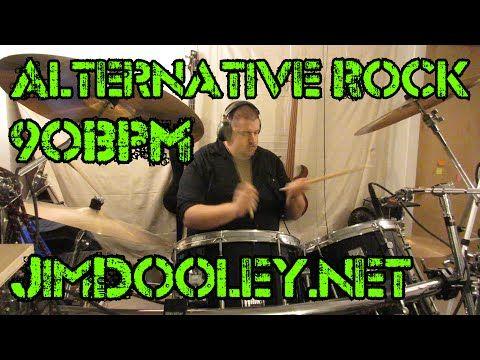 Alternative Rock Drum Beat with effects 90 bpm - Jim Dooley