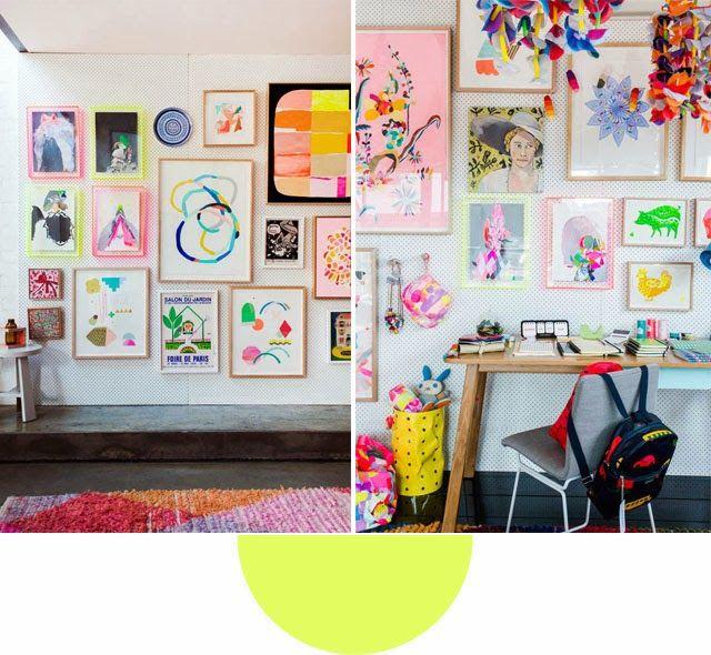 Design Files Tour Jpg 640 590 Gallery Wall Inspiration Inspiration Wall Home Goods Decor