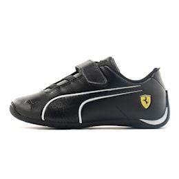 PUMA SF Future Cat Ultra V Preschool Shoe Sneakers, Black/White, size 9.5, Shoes