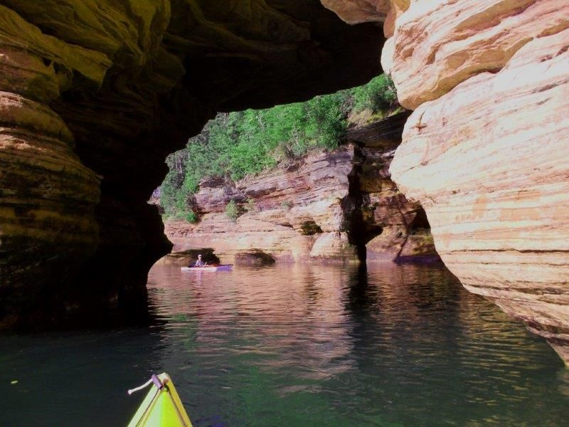 This is the excuse as to why I have no new paintings      Mainland Sea-Caves   Apostle Islands National Lakeshore, ...