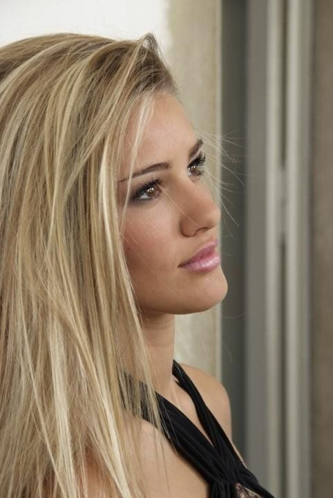 Natural Blonde With Brown Eyes