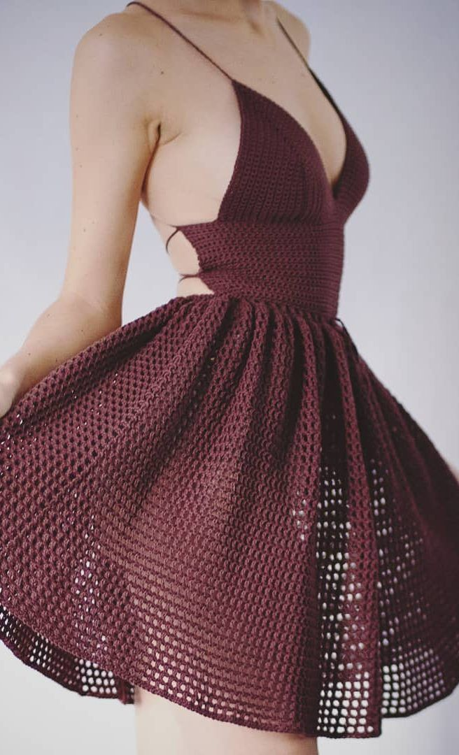30+ Best Free Crochet Dresses Crochet Patterns 2019 - Page 6 of 33 #crochetpatterns