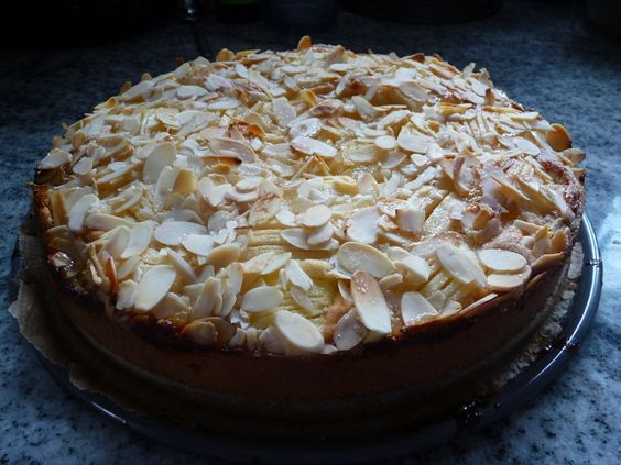 Versunkener Apfelkuchen - Glutenfrei Backen und Kochen bei Zöliakie. Glutenfreie Rezepte, laktosefreie Rezepte, glutenfreies Brot