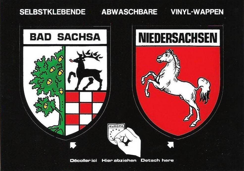 Bad Sachsa Niedersachsen Bad Sachsa Wappen Das Original