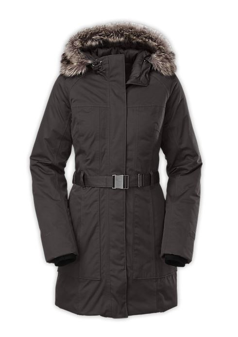 parkas largas north face mujer
