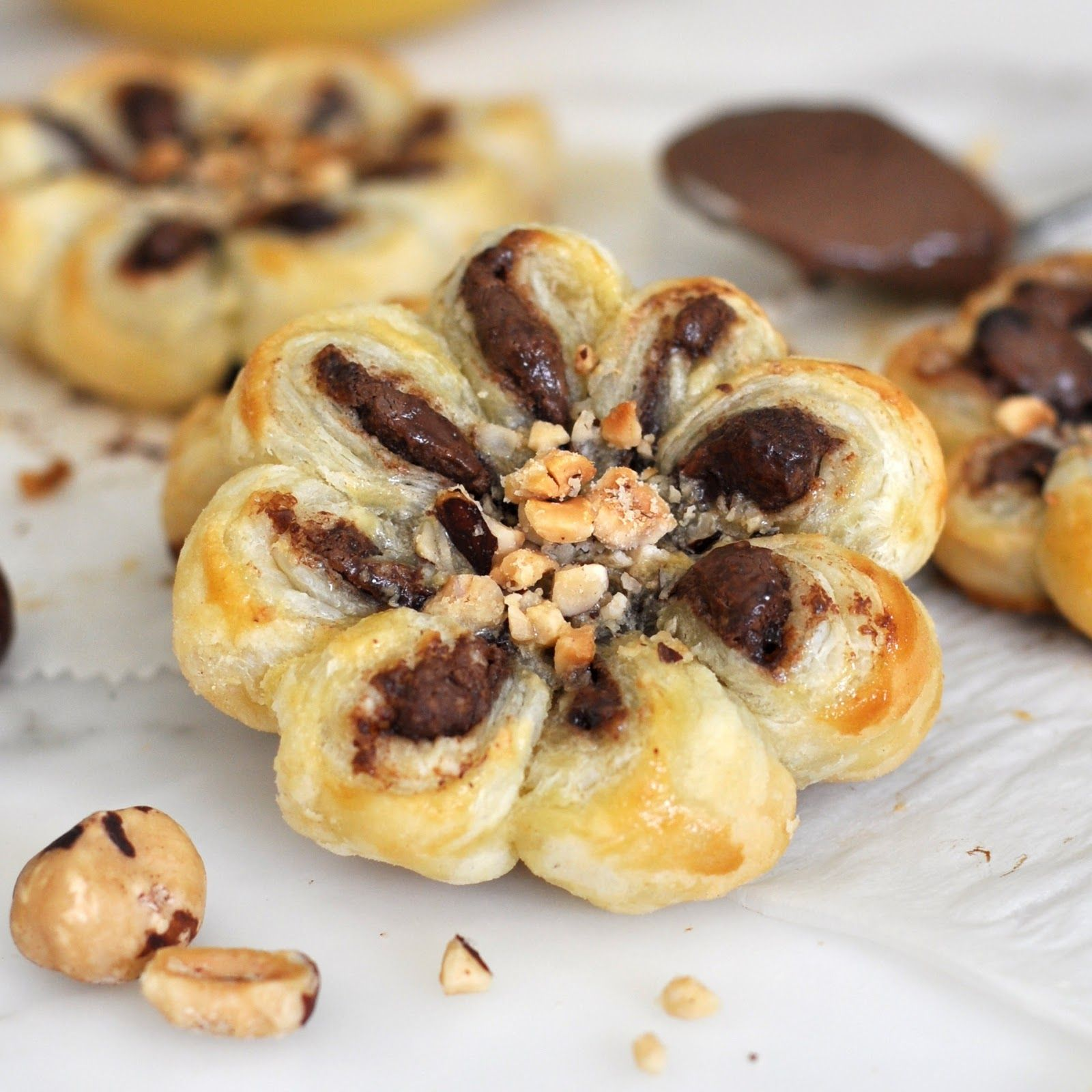 How to make puff pastry chocolate hazelnut flowers pinterest a blog about italian food quick and easy recipes cooking experiences and tips visit my blog get inspired and creative forumfinder Gallery