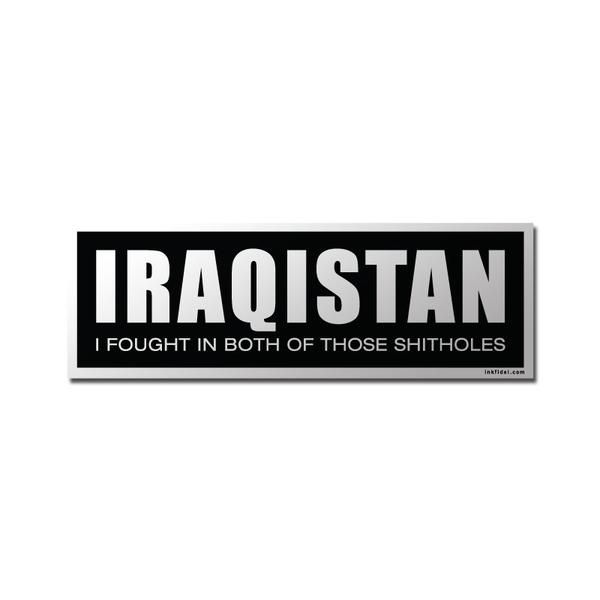 Fight in both those shit holes? Then check out our Iraqistan decal - helicopter pilot resume