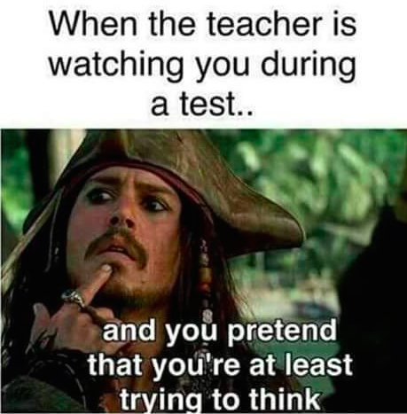 Pretending You Re Not Completely Lost Teacher Memes Funny Really Funny Memes Funny School Memes