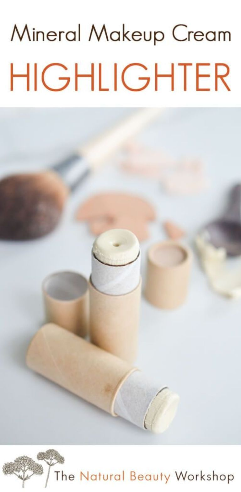 Photo of Mineral Makeup Cream Highlighter » The Natural Beauty Workshop