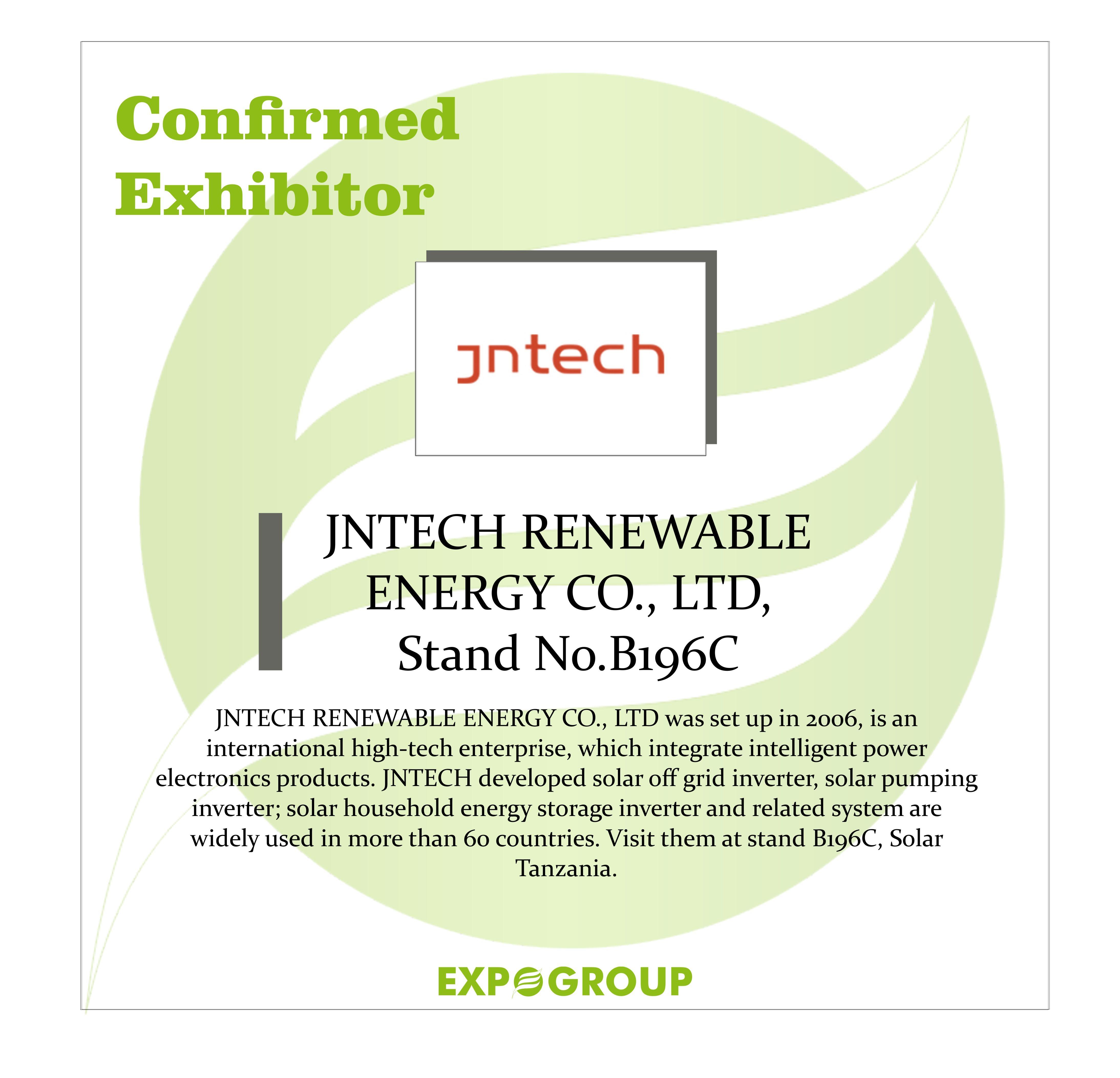 Jntech Renewable Energy Co Ltd Renewable Energy Solar Energy