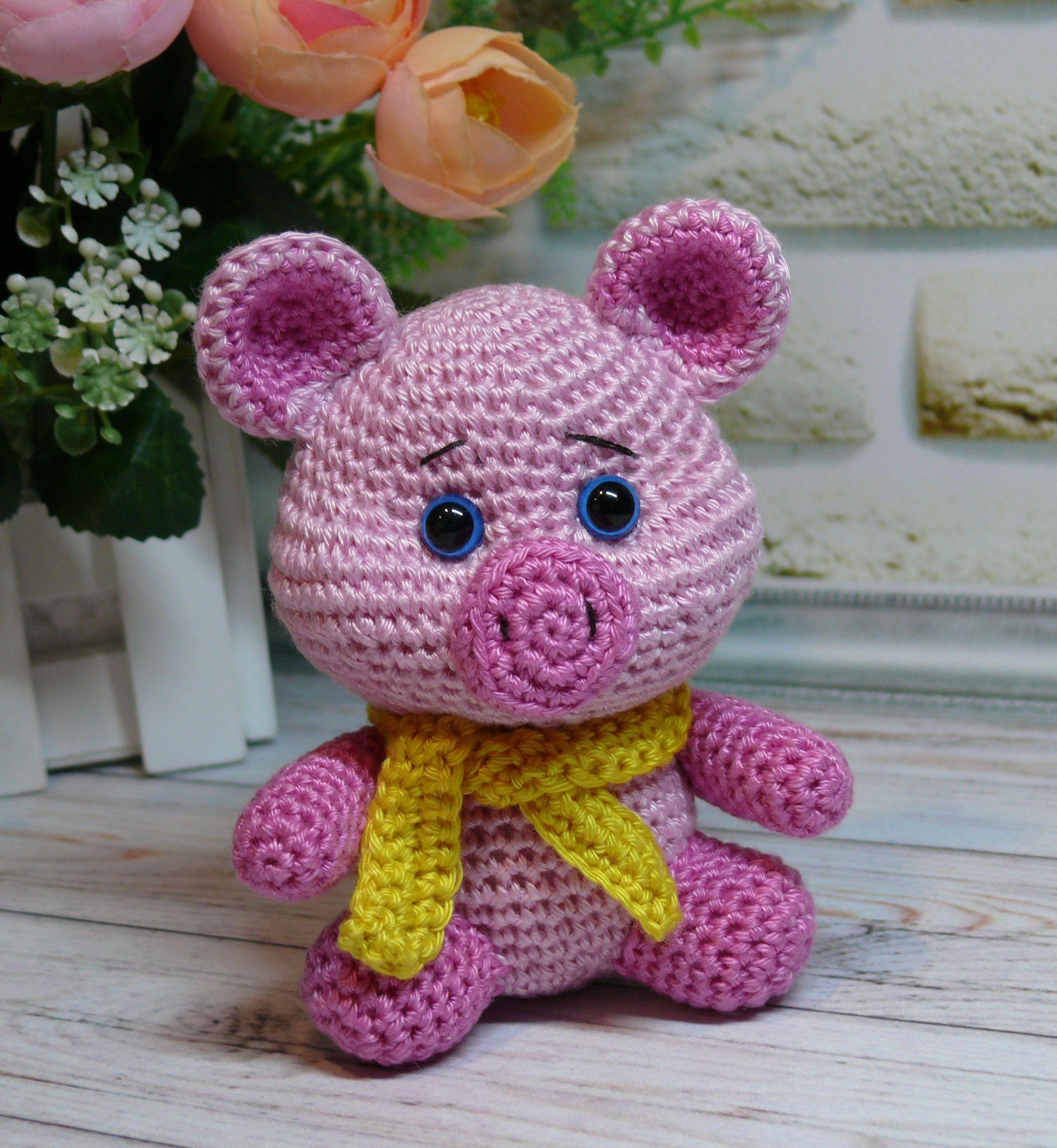 Amigurumi Piglet - FREE Crochet Pattern / Tutorial in ENGLISH ... | 2520x2321