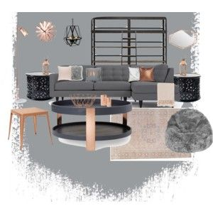 Best Blush Copper And Gray Living Room Copper Living Room 400 x 300