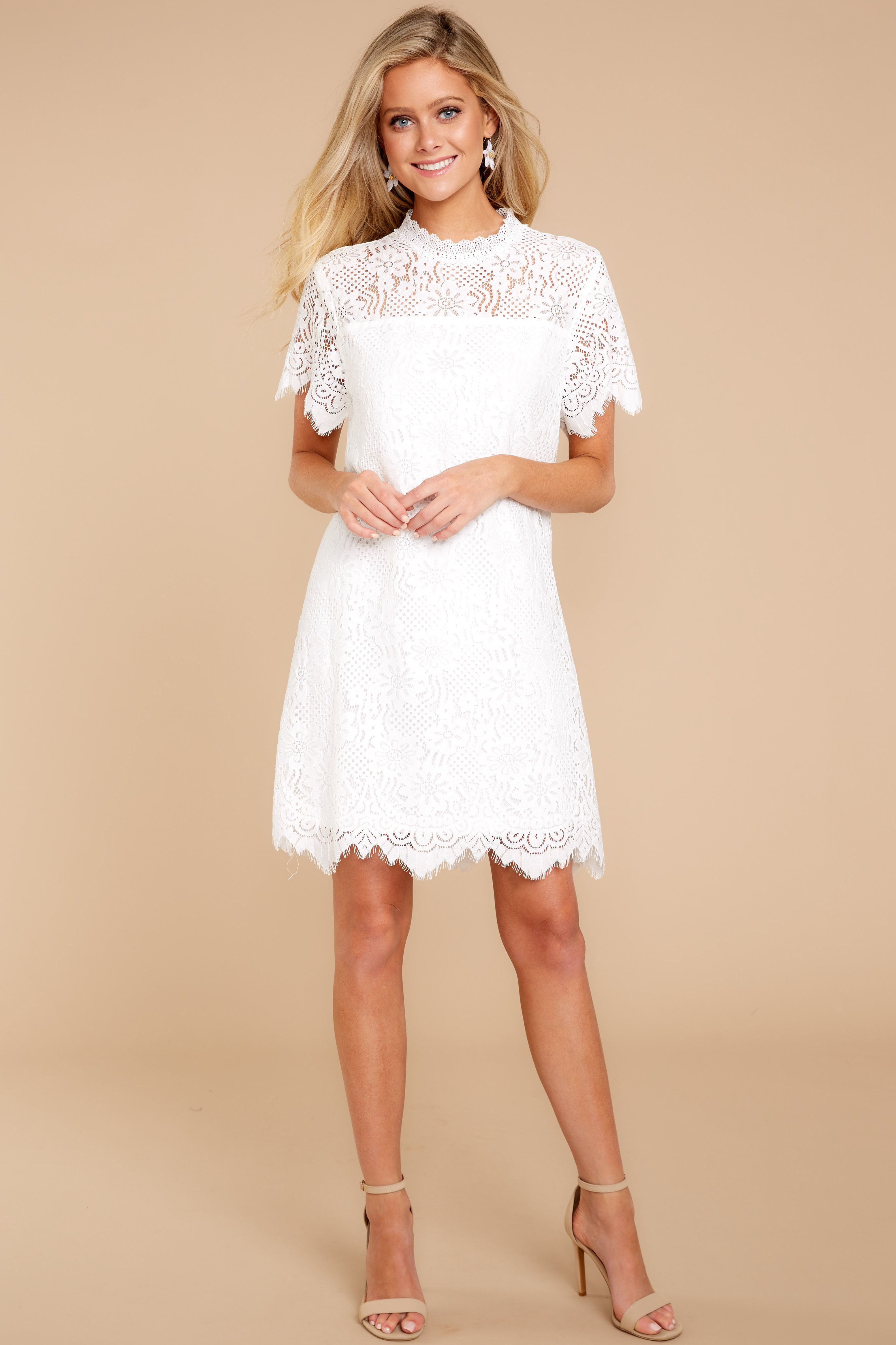 1f0f60604974 Give Me A Call White Lace Dress in 2019 | Red Dress Boutique | Lace ...