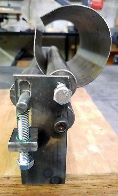 12 X 10 Gauge Sheet Metal Roller Slip Roll Rolling Metalworking Brass Steel Metal Bending Tools Sheet Metal Roller Metal Fabrication Tools