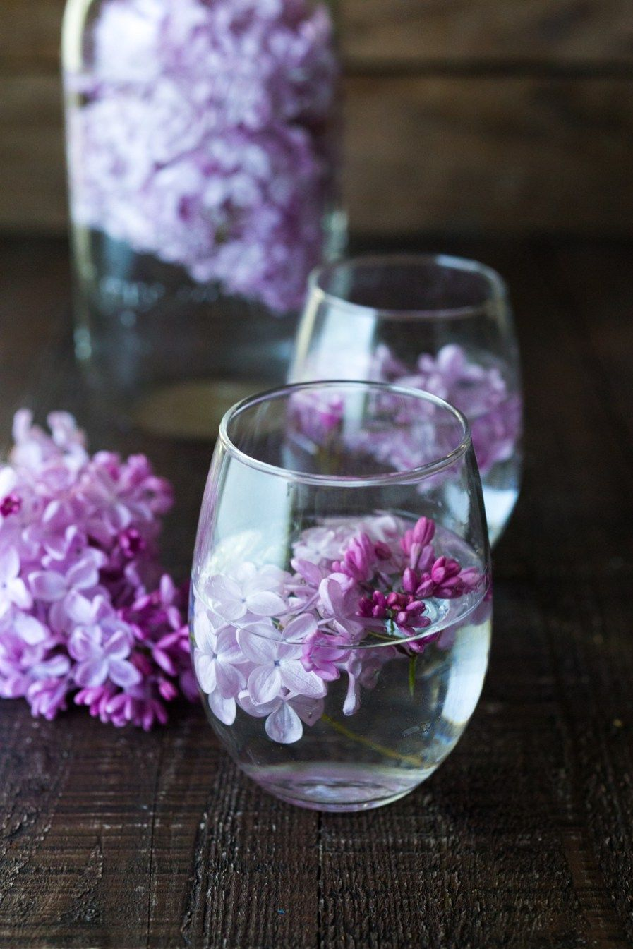 Lilac Water Recipe Lilac Water Into Wine Fancy Drinks