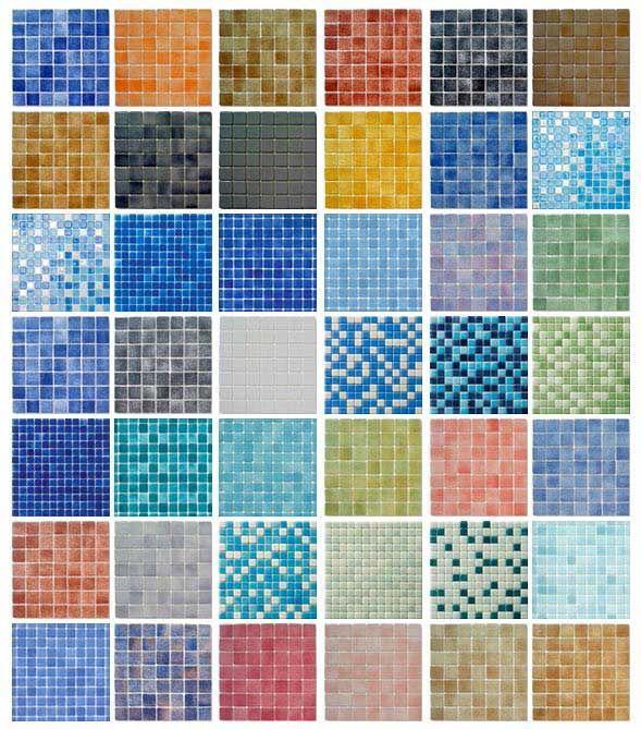 Gresite piscinas ba os pinterest piscinas muestras - Azulejos de gresite ...