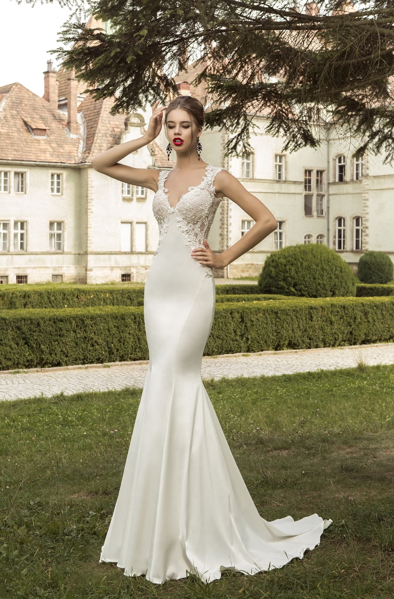 SEVILLE wedding Dress in Charmé Gaby Bridal Gown boutique Clearwater ...