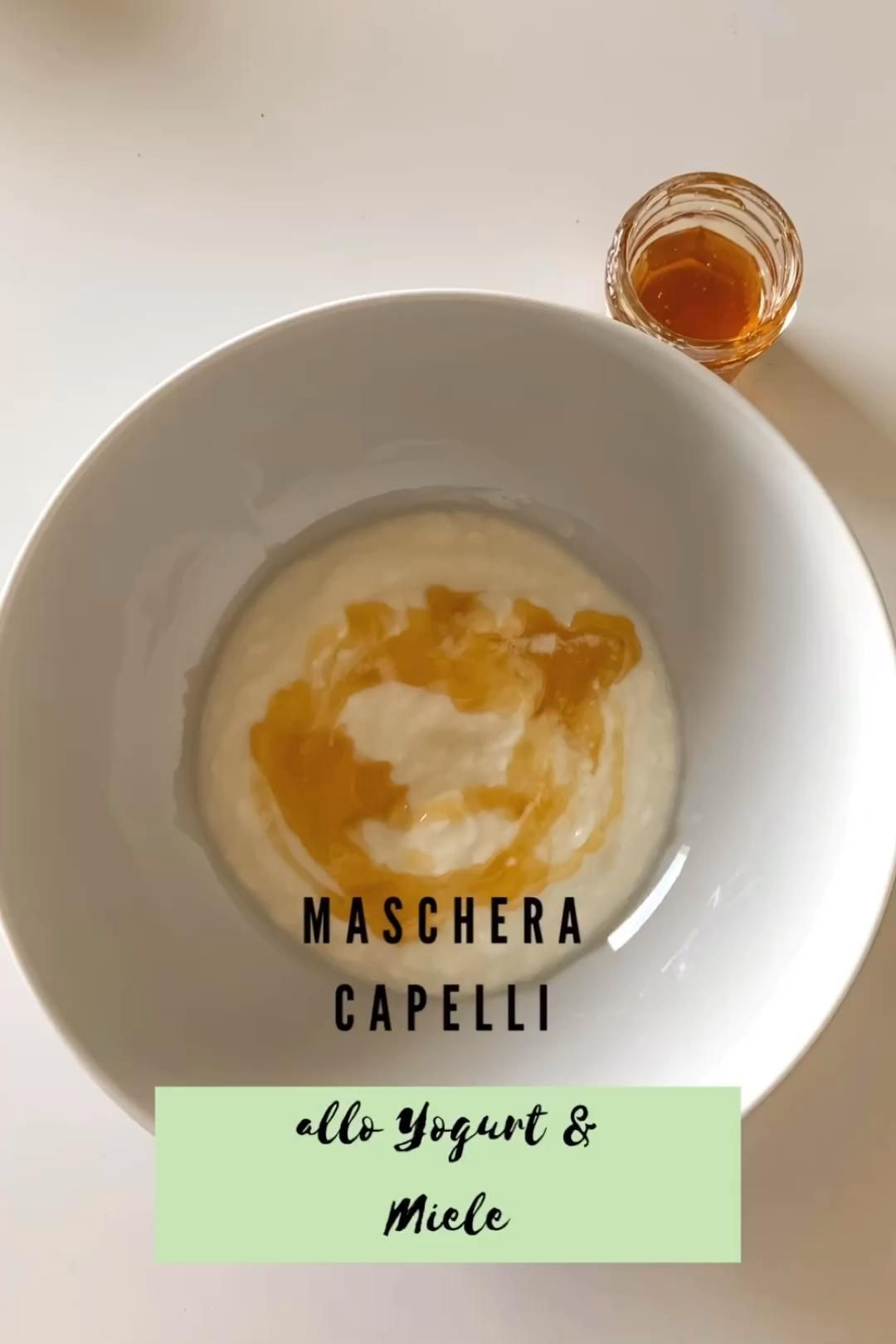 Maschera Capelli allo yogurt e miele – Hair Mask Blog 2020