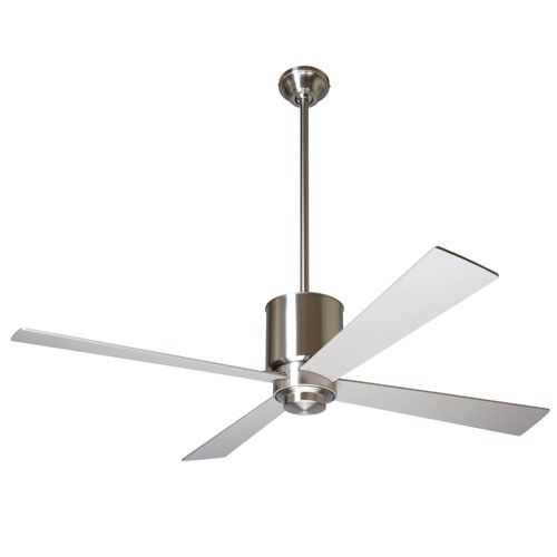 Lapa ceiling fan can be mounted hugging ceiling comes in white 42 inch