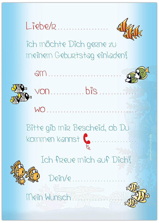 vorlagen einladungskarten kindergeburtstag