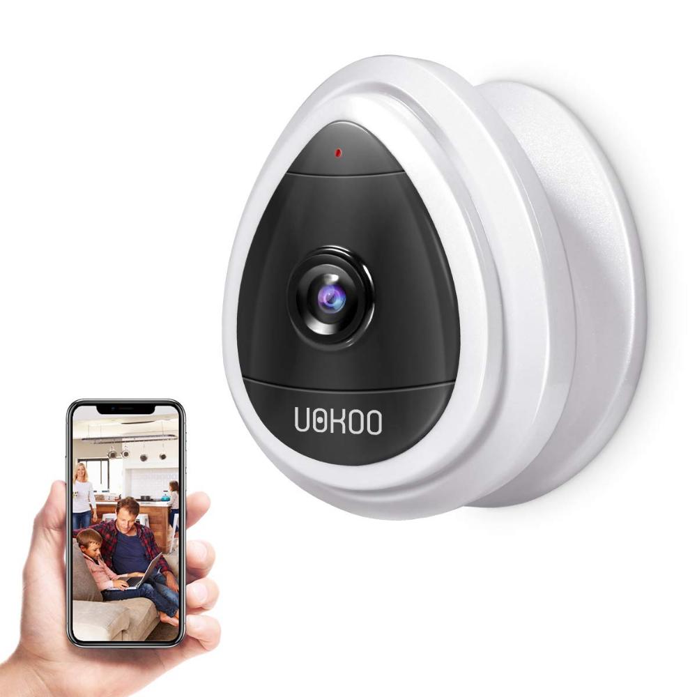 Amazon Com Uokoo Home Security Camera Wifi Wireless Security Smart Wireless Home Security Systems Security Cameras For Home Home Security Systems