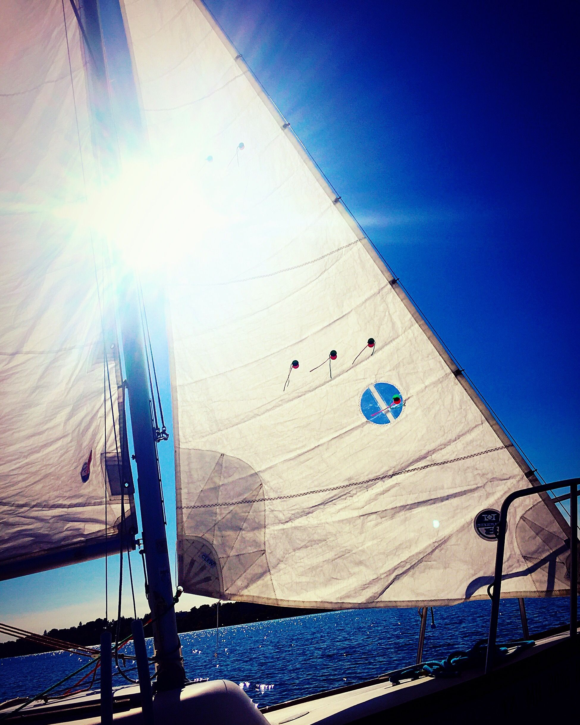It was a great day for a sail... #mpls #lakecalhoun