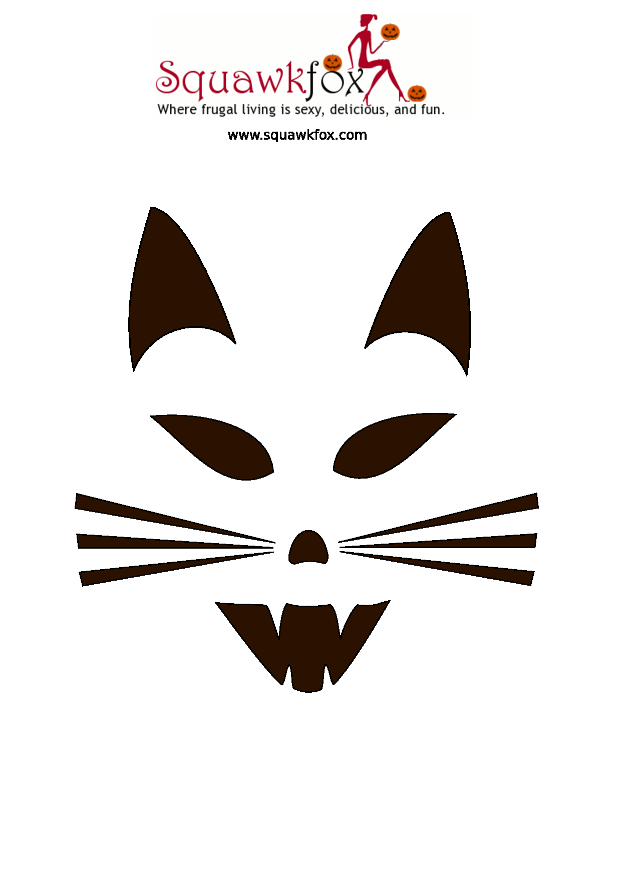 It's just an image of Influential Free Pumpkin Carving Templates Printable