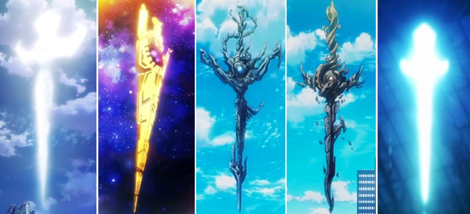 Project K swords K project anime, K project, Anime wallpaper