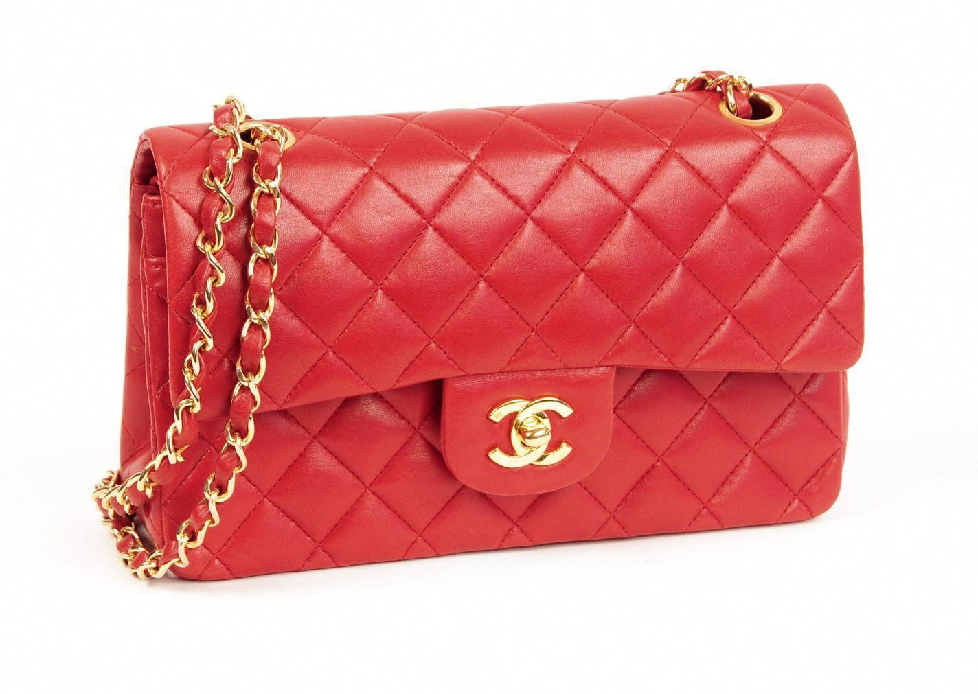 98db9f76e8e4c2 Image detail for -Resurrection Vintage › OH LITTLE RED CHANEL BAG…YOU SURE  LOOK GOOD #Chanelhandbags