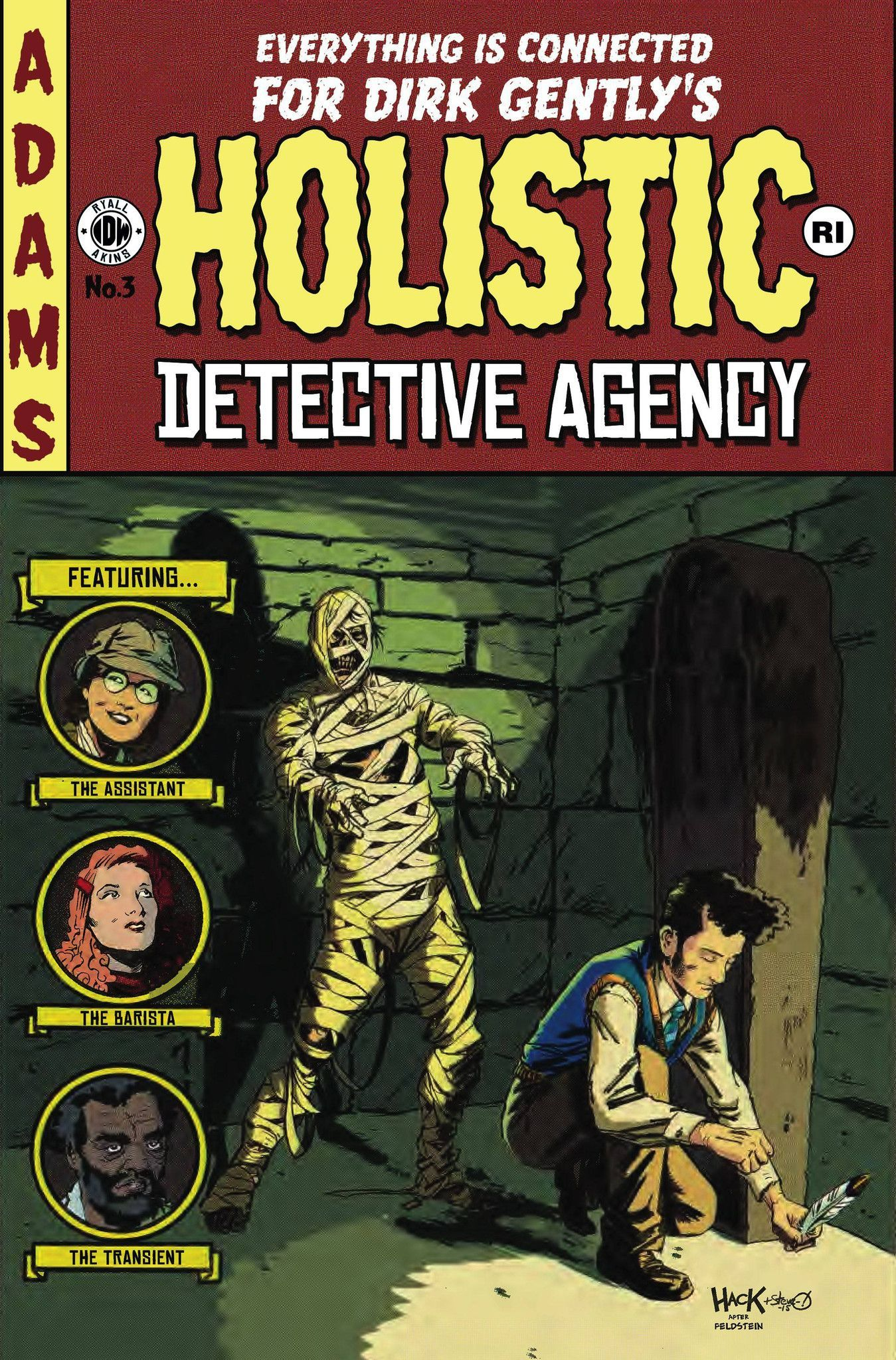 Dirk Gently's Holistic Detective Agency (2015) Issue #3