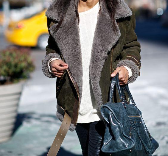 Trend Report: Shearling Coat