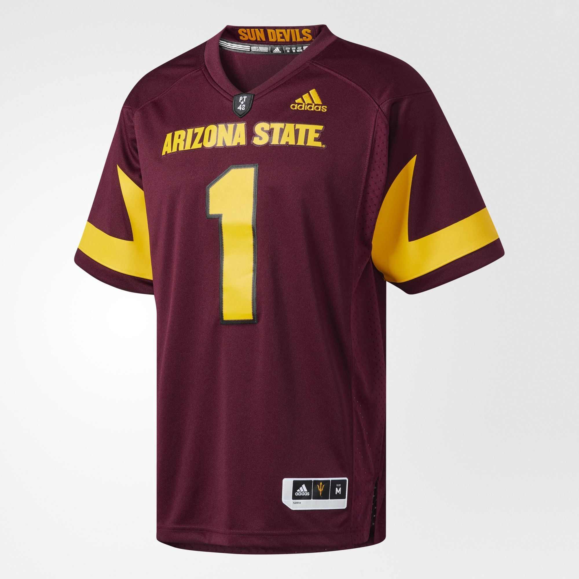 Adidas Originals Sun Devils Premier Football Jersey Adidasoriginals Cloth Adidas Adidas Originals Adidas Originals Mens