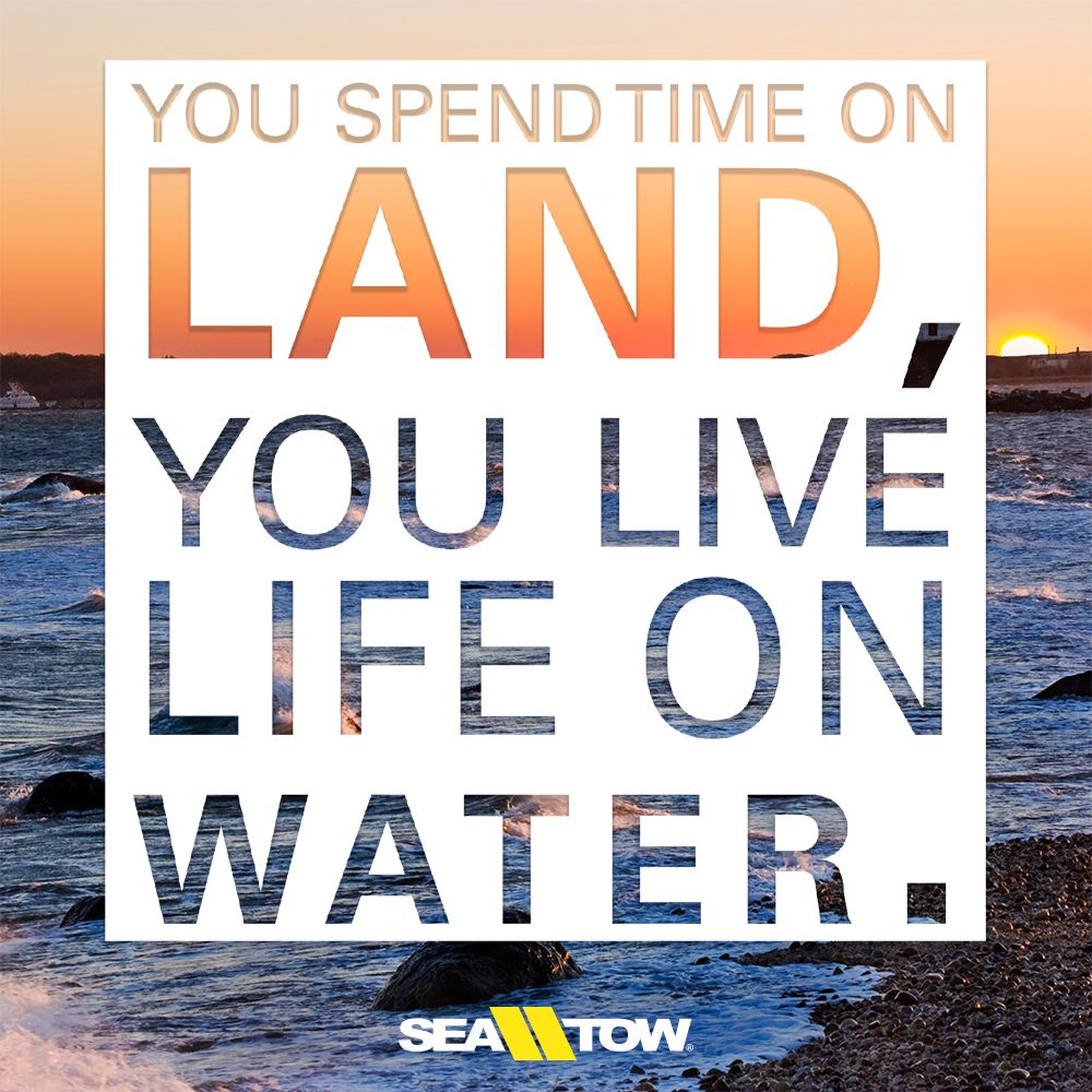 You Spend Time On Land You Live Life On Water Boatquote Boat Quote Boatinglife Saltlife Seatow Boating Quotes Life Quotes Lake Life Quotes