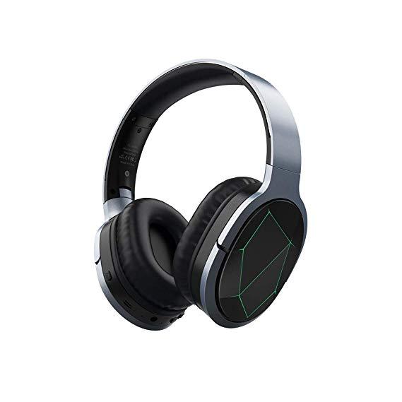 Azeada Wireless Gaming Headphones Mobile Gaming Bluetooth Headset With Microphone Deep Bass Wireless Headp Gaming Headphones Wireless Gaming Headset Headphones