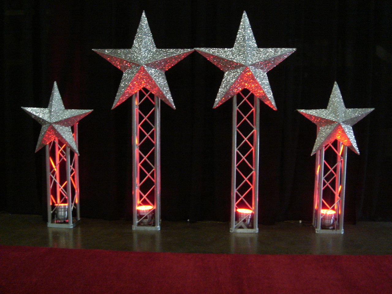 Decorative Stars For Parties Hollywood Stars Theme Party Decor Hollywood Theme Decor