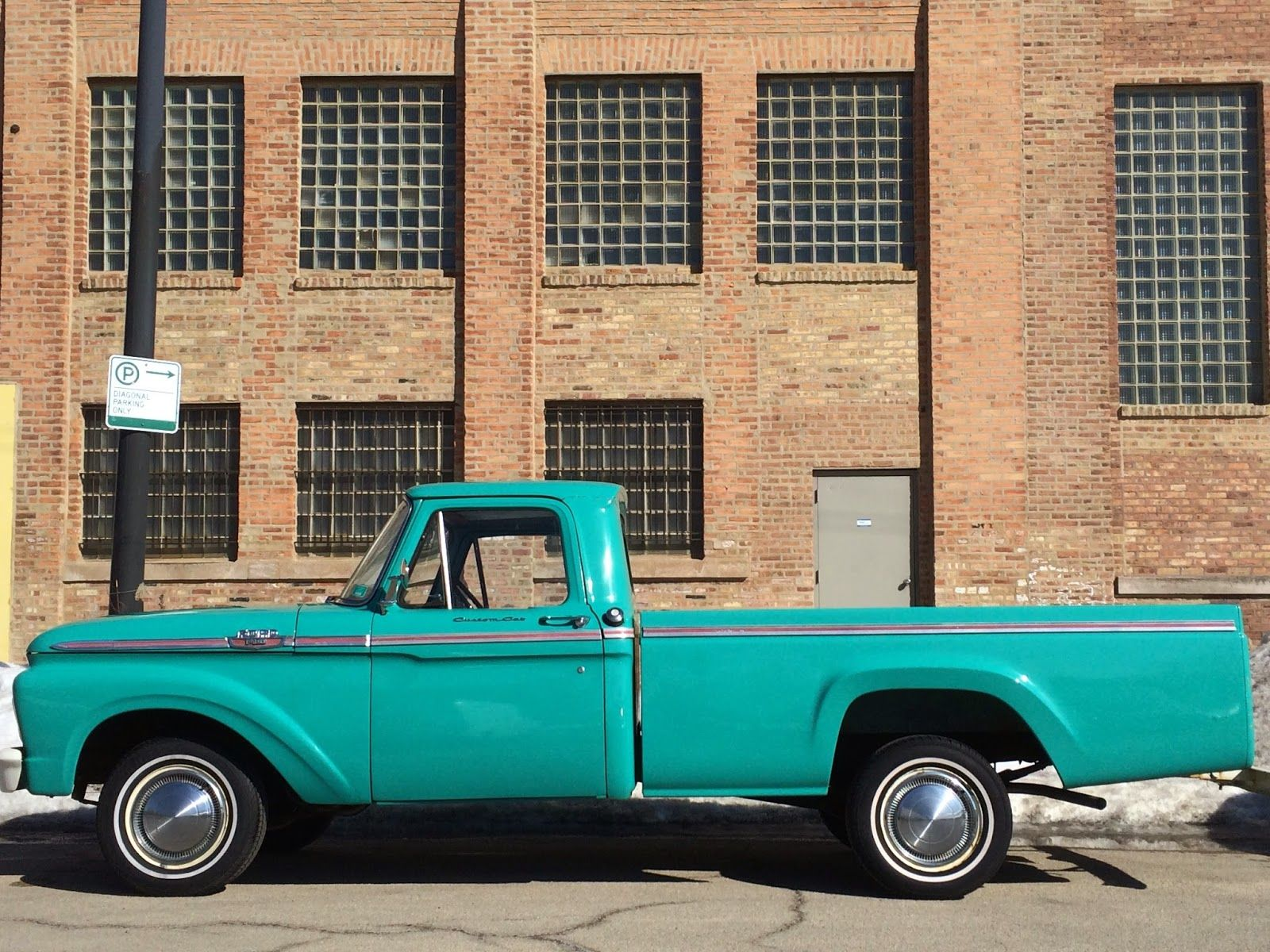 Vintage pickup truck prop rental ford f100 1963