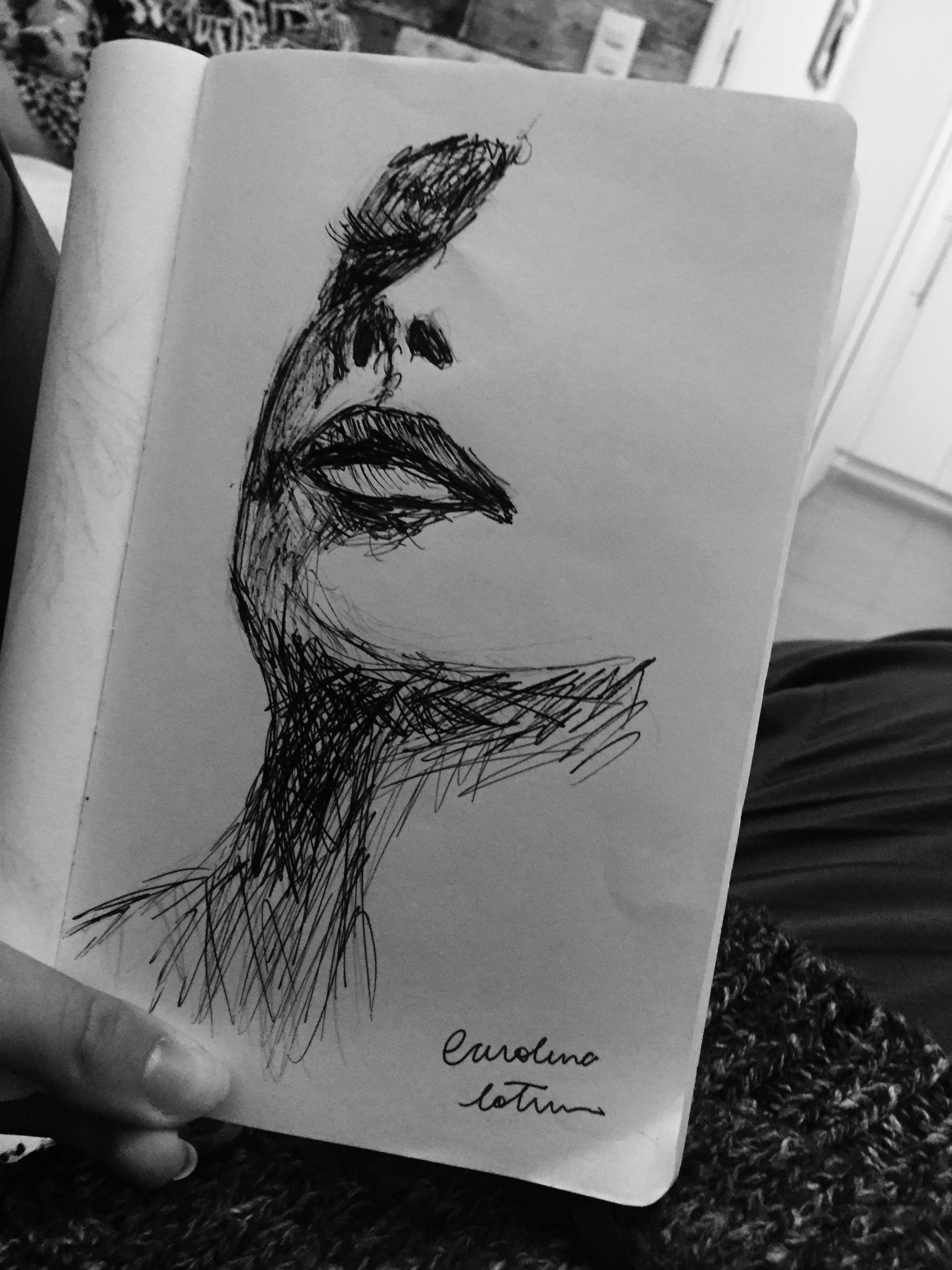 moleskine drawing