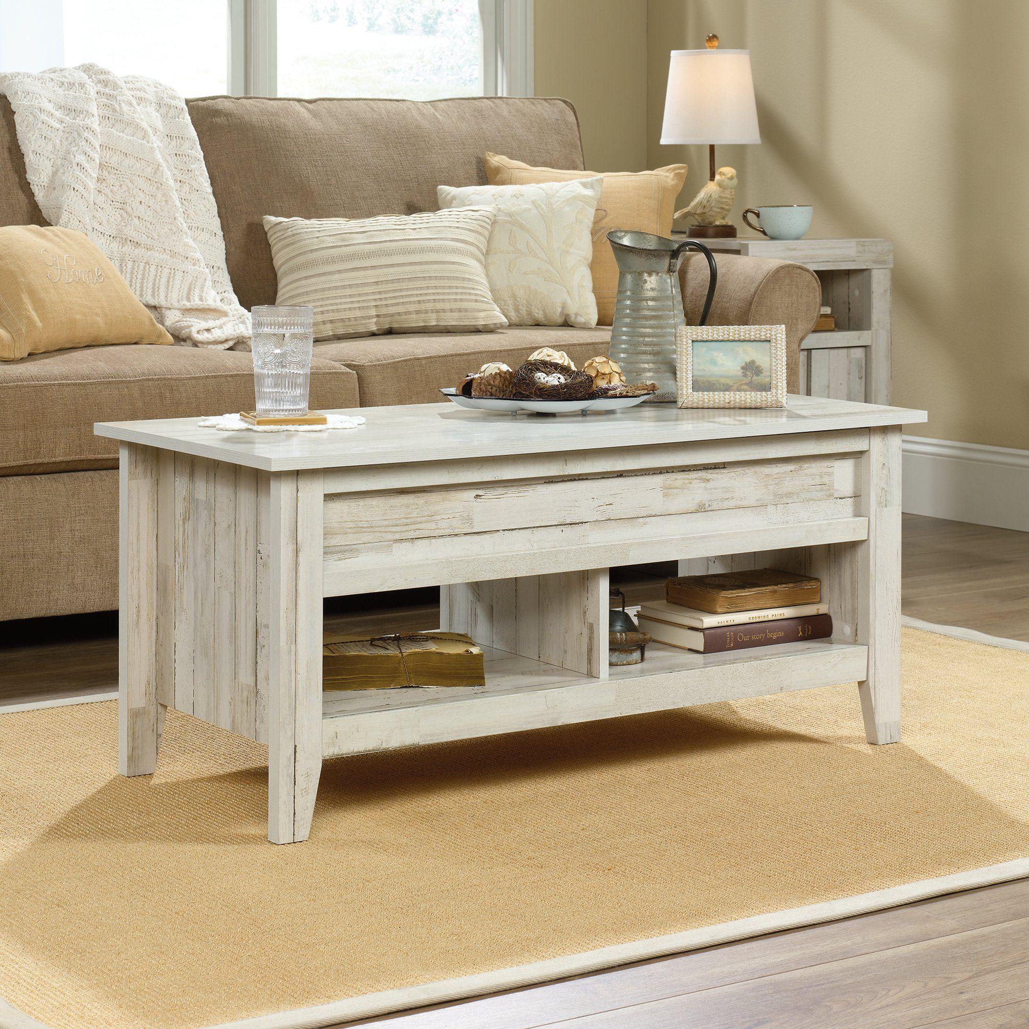Sauder Dakota Pass Lift Top Coffee Table White Plank Finish Walmart Com Walmart Com In 2021 Coffee Table With Storage Coffee Table Living Room Coffee Table [ 2000 x 2000 Pixel ]