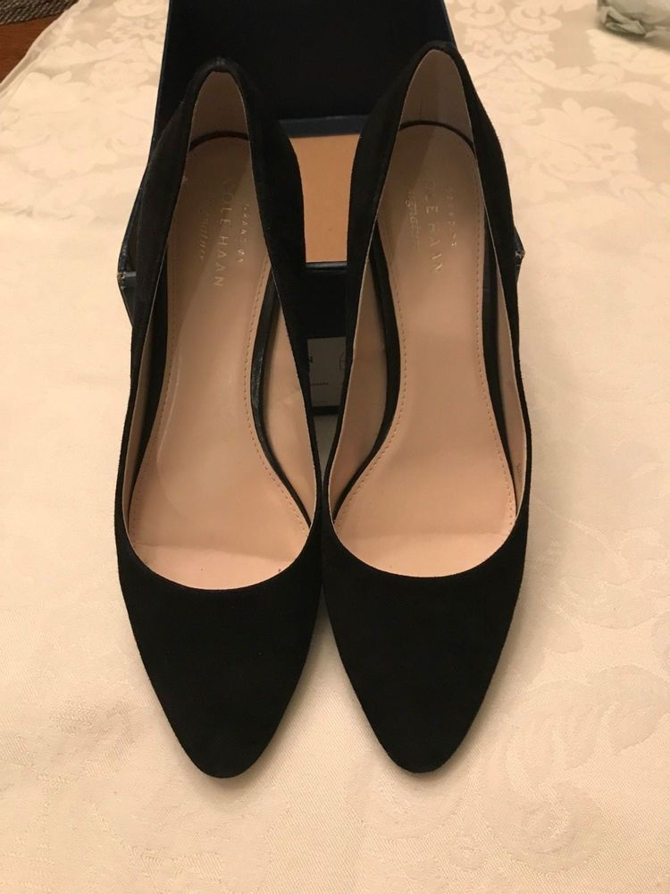 0a37991be54f3 Cole Haan Justine Block-Heel Pumps Black Size 7B  fashion  clothing  shoes   accessories  womensshoes  heels (ebay link)