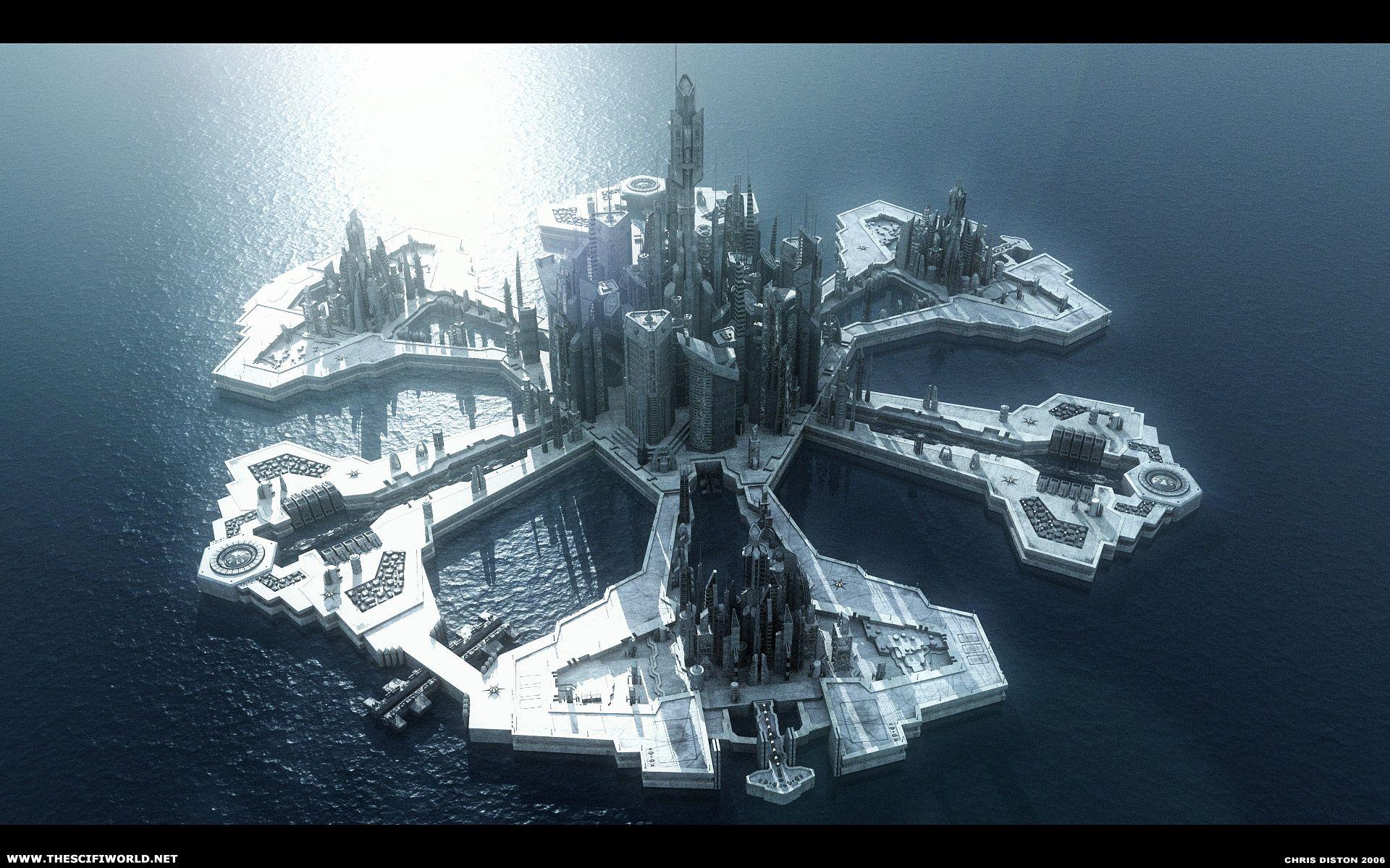 Space Scifi Art Stargate Atlantis Stargate Stargate Universe