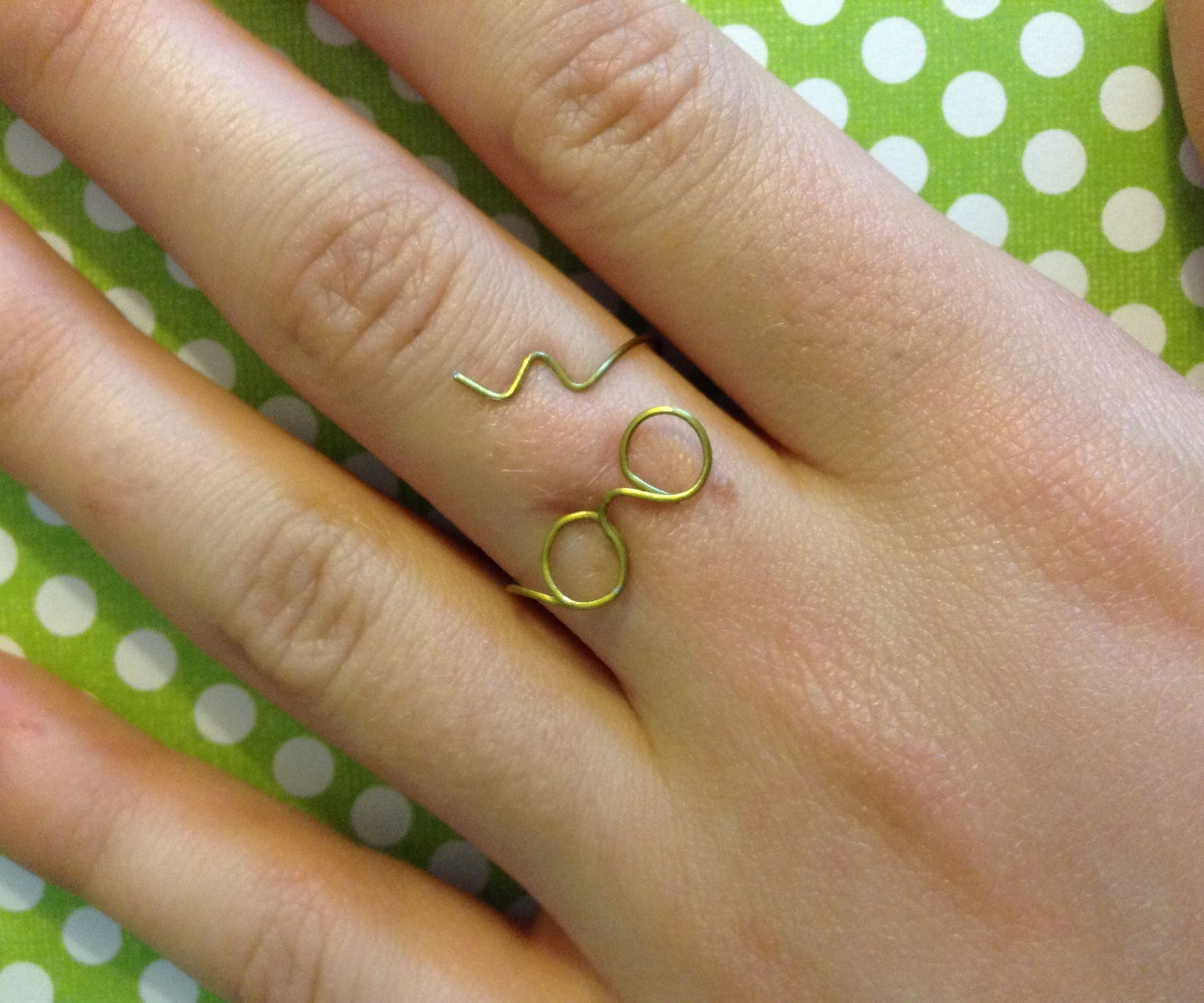 Harry potter lightning bolt ring harry potter glasses harry hey harry potter fans its momo and today ill show you how to make solutioingenieria Choice Image